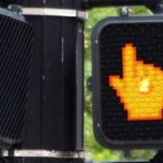 Traffic Walk Signal with Mouse Pointer