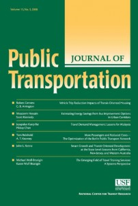 Journal of Public Transportation – Vol. 16 No. 3 (2013)