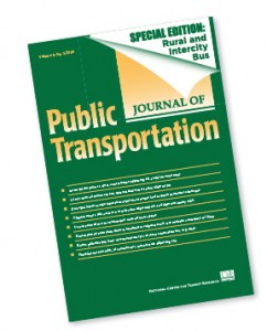 Journal of Public Transportation Special Issue: Rural and Intercity Bus