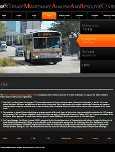 Home page of The Transit Technician Education Program (TTEP)